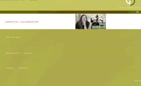 A choreographer's branding / site