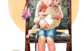 Norman Rockwell style illustration