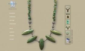 Handcrafted jewelry branding