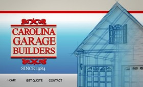 Garage builder's site