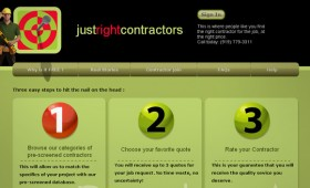 Contractor finder site