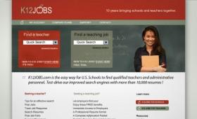 Teaching jobs site