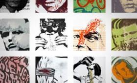 A vanguard poster artist's site
