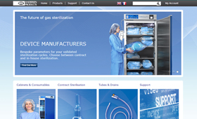 Site for European medical distributor