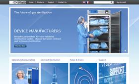 Site for European medical distributor