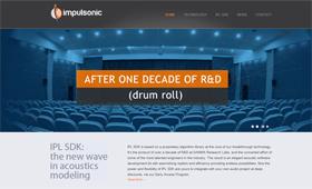 High tech audio site